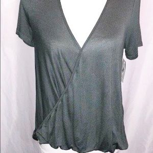 B2-0180 Lush Norstrom Blouse NWT Green Size XS